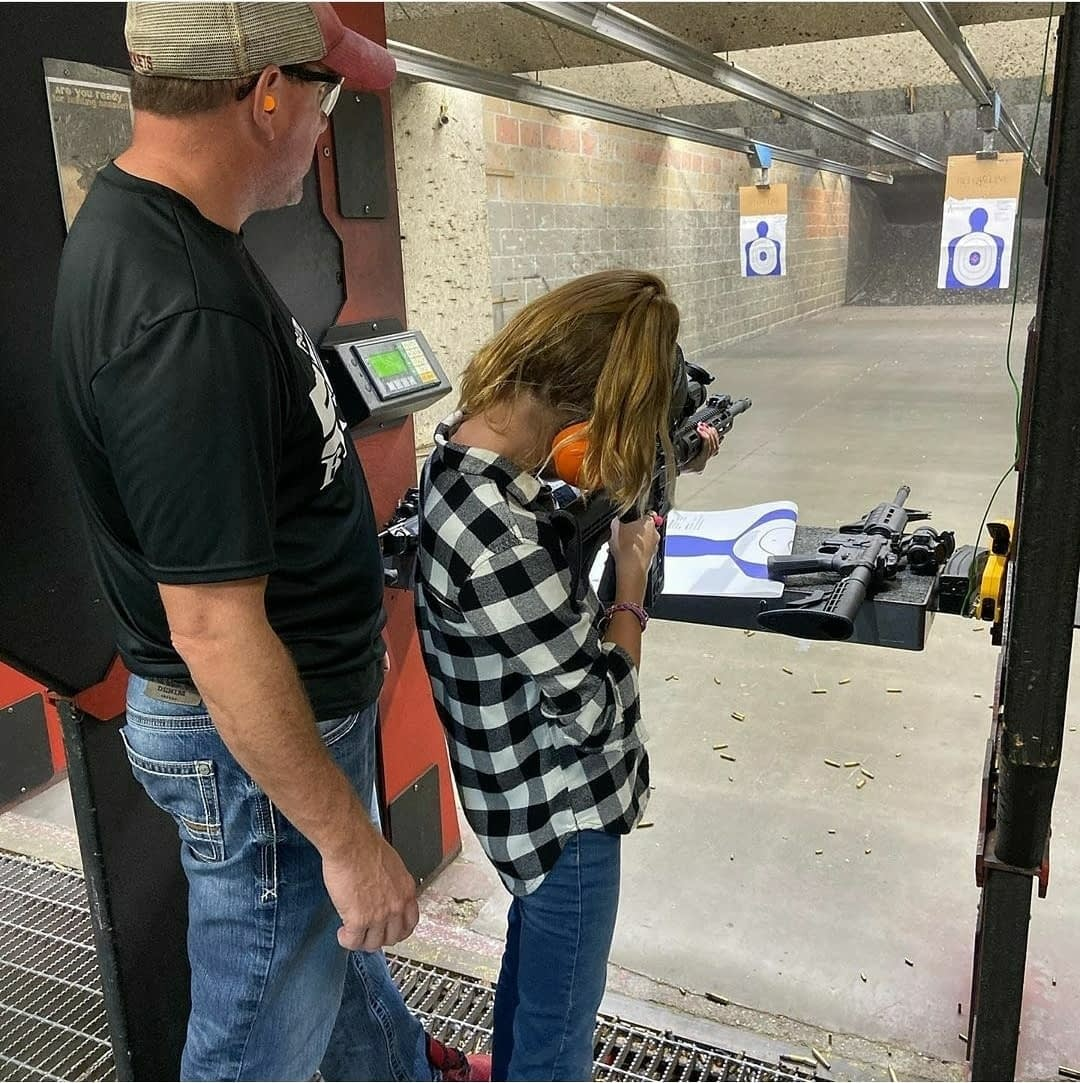 kid age restriction for gun range Texas